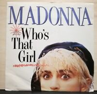 MADONNA - WHO'S THAT GIRL - WHITE HEAT  mai suonato 1987 - nuovo