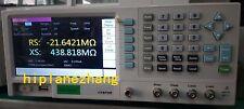 6 1/2 Bench LCR Meter Hi-accuracy 0.05% 300KHz Step 1mHz 7''TFTLCD DC Bias USB