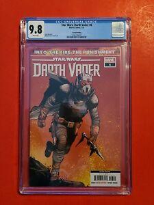 Star Wars Darth Vader #6 🪐 CGC 9.8 1st Ochi Sith Assassin Cover 2nd Print not 3