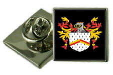 Select Gifts Bucher England Family Crest Surname Coat Of Arms Cufflinks Personalised Case