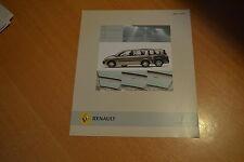 DEPLIANT Renault Scénic Latitude de 2006