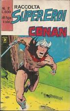 RACCOLTA SUPER-EROI n° 2 (Corno, 1979) CONAN & KAZAR 18 - 19 - 20