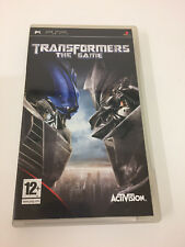 Transformers: The Game (PSP) Video Games UK PAL