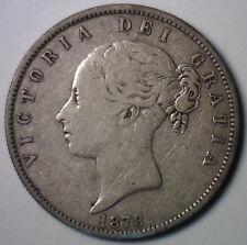 1878 Silver Britian Half Crown UK Coin YG