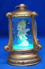 Tinker Bell Light Up LED Lantern Snowglobe Disney Precious Moments Figure 161102