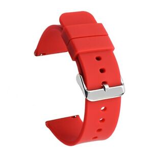 14mm 16 18 19mm 20mm Soft Silicone Watch Band 21mm 22mm 24mm Sports Rubber Strap