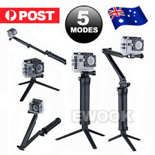 3 Way Adjustable Monopod Pole Selfie Stick Camera Tripod Mount GoPro Hero5 4 3