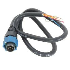 Transductor de Lowrance Adaptador Cable de 7 Pines Azul-alambre desnudo 000-10046-001
