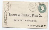 1881 Charlotte MI 3ct green PSE with letter cider press [2463.350]