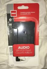 Rca Cassette Tape Adapter for Car Stereo, New Free Us Ship