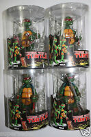 TEENAGE MUTANT NINJA TURTLES 4 PCS FIGURES NEW IN BOX RED HEADBAND 5.5""