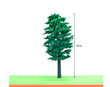 5 Trees 1:24 (G) Scale Diorama Miniature 15cm/6'' High