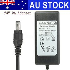 AU 24V 2A Power Supply Adapter Charger For Logitech Racing Wheel G27 G25 G940