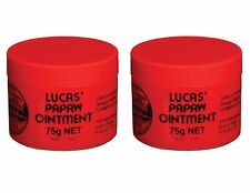 Lucas Papaw Cream 75g x2 (2 Pack) - Paw Paw Ointment