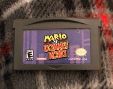 Mario Vs Donkey Kong Nintendo (Game Boy Advance GBA 2004) CARTRIDGE ONLY