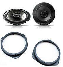 Alfa Romeo Mito 2008 onwards Pioneer 17cm Front Door Speaker Upgrade Kit 240W
