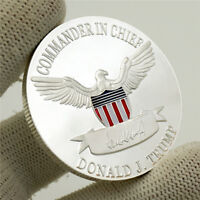 US President Donald Trump 2020 KEEP AMERICA GREAT Silver Eagle Challenge Coin