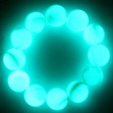 90g 17mm Natural luminous Prayer Bead Crystal Mala Vein fluorite bracelet YSL01