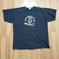 Pirana Z Racing NHRA Black T-Shirt - Men's XL Double Sided Print I Just Smoked