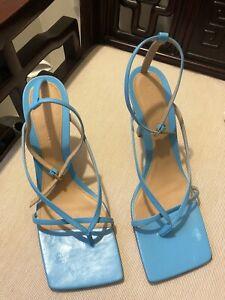 BOTTEGA VENETA Leather Stretch Toe Heels