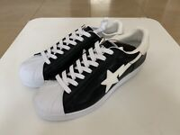 AUTHENTIC APE BAPE GLOW IN THE DARK SKULL STA BLACK US 10.5 NEW SNEAKERS