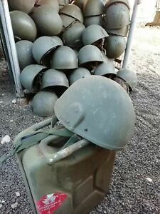 British Army Mk6 Ballistic Bulletproof Olive Combat Helmet LARGE Ex MOD Surplus