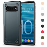 Impact Tough Phone Case Support Wireless Charging For Samsung  S10e S10 Plus