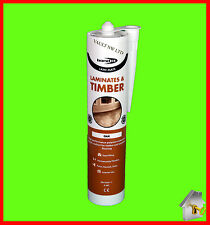 Laminate floor Silicone Oak Colour Bond it Gap Filler for Timber and Laminate