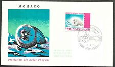 Monaco Scott 758 - Protection des Bebes Phoques FDC - 1970
