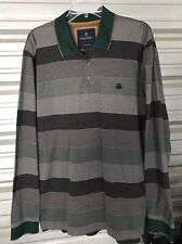 New listing Brooks Brothers mens XL multi-color striped long sleeve polo rugby shirt