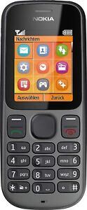 Nokia 100 Cell Phone Black New