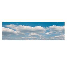Vollmer 46112 - Fondo de Paisaje Nubes, Tres Piezas, 266 X 48CM Producto Nuevo