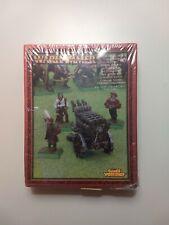 Warhammer Empire Hellblaster Volley Gun Metal  sealed
