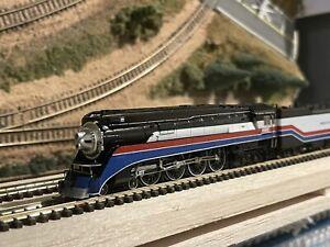 N Scale Kato 126-0311 GS-4 American Freedom Train #4449 DCC