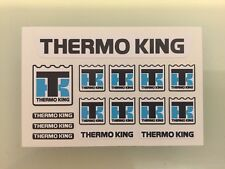 TAMIYA 1/14 REEFER TRAILER 56319 colour sticker set for front fridge THERMO KING