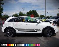 Stripe Kit Sticker Decal for KIA Niro Bonnet Roof Boot Sport Scoop Seat Cover
