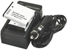 New 3 PIECE D-LI88 DB-L80 Camera Battery and Charger For Optio H90 P70 w90 pro