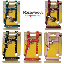 More details for rosewood small animal gentle harness & lead set rabbit ferret guinea pig