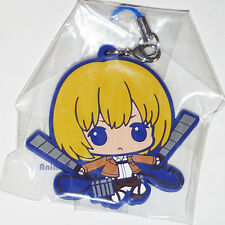 Official Attack on Titan rubber mascot strap - Armin By BANDAI SNK *NEW*