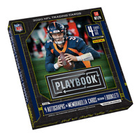 2020 Panini Playbook Football Hobby Box - FACTORY SEALED