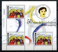 Kolumbien Colombia 2004 Frauen Bürgerrechte Women Kleinbogen 2331 Postfrisch MNH