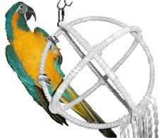 Large Parrot Orbit Swing Toys Perches