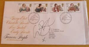 """FDC (First Day Cover) Signed Gina Bellman  """"Leverage"""", """"Only Fools and Horses"""""""