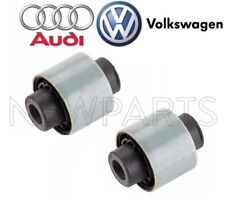 New Audi Vw Pair Set of Rear Lower Outer Suspension Control Arm Bushings Genuine (Fits: Rabbit)