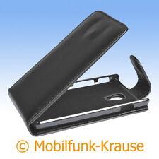 Flip Case étui pochette pour téléphone portable sac housse pour LG p710 Optimus l7 II (noir)
