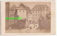 CdV Foto Buff`s Wohnhaus in Wetzlar um 1870 ! (F1664