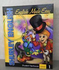 Shurley English 1 Student Textbook, HB, 2007, New  Homeschool / School