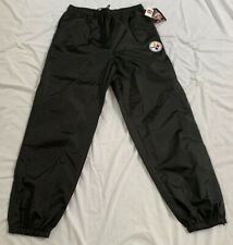 VTG Pittsburgh Steelers NFL Game Day Turbo Zone Side Line Pants Men's Size XL