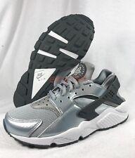 new arrivals 195b0 12d5c New Nike Air Huarache Sz 7.5 WMN s 38.5 Running Shoes 634835 Silver Vapor  Run