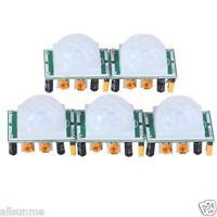 5 X HC-SR501 Adjust IR Pyroelectric Infrared PIR Motion Sensor Detector Modules
